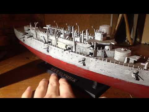 Building the USS OLYMPIA part 5
