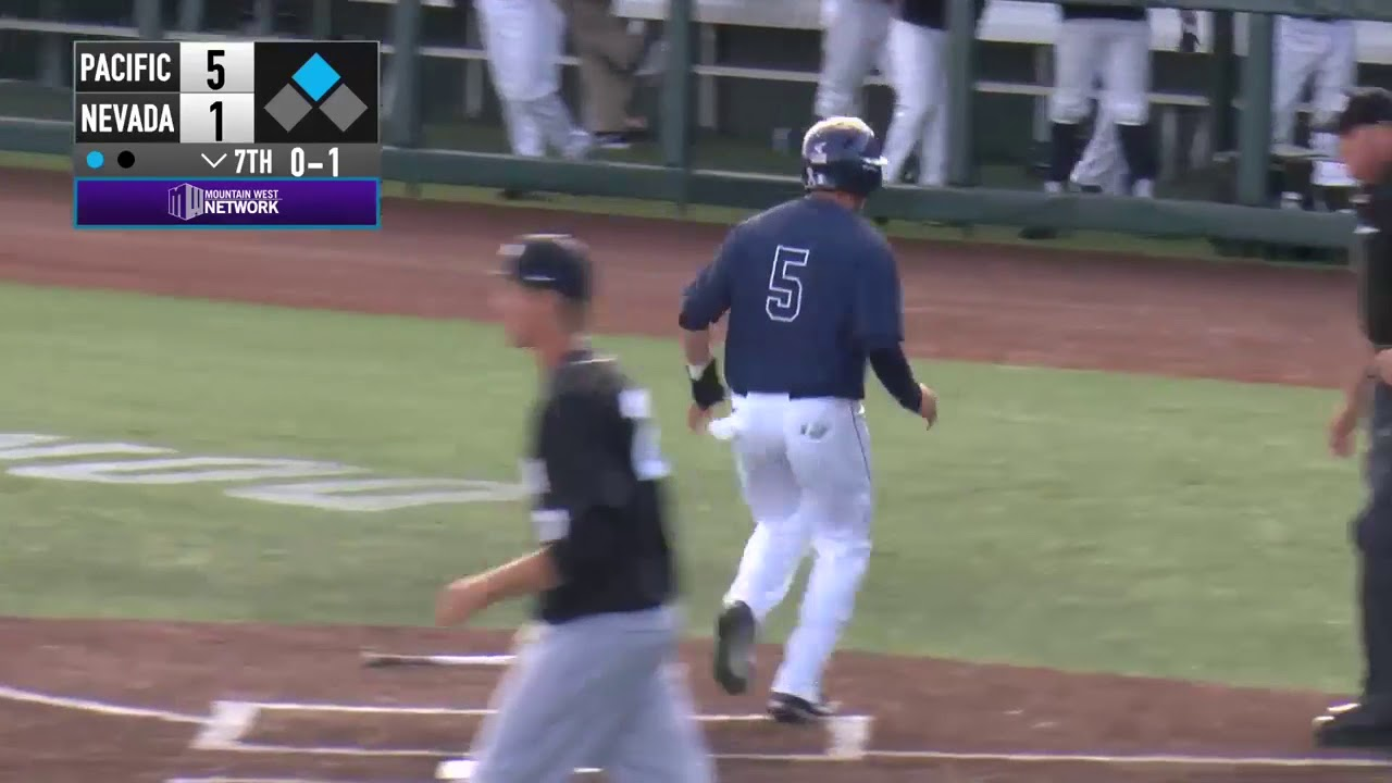 Nevada Baseball 7, Pacific 5 | Highlights Driven by Northern Nevada Toyota  Dealers
