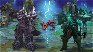 mORDEKAISER ALL SKINS Old VS New Comparison Rework - League of Legends