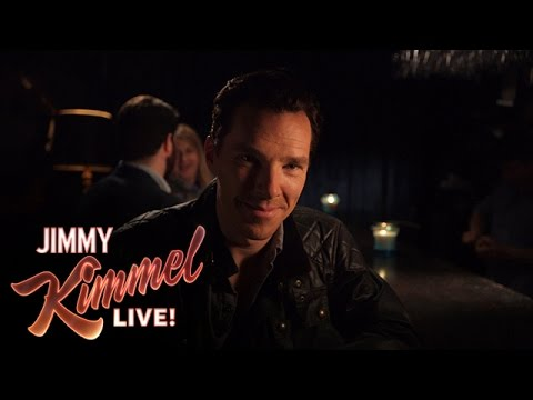 Watch Benedict Cumberbatch Try On A Few New Names On 'Jimmy Kimmel Live'
