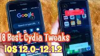 TOP 8 Best Cydia Tweaks Compatible iOS 12.0-12.1.2 (Unc0ver Jailbreak Tweaks)
