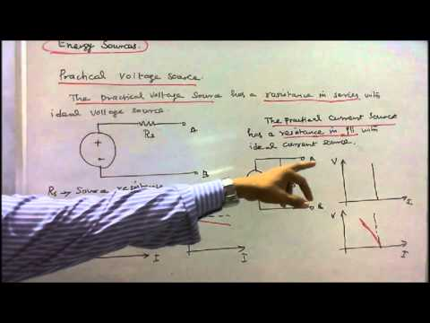 BASICS OF ELECTRICAL ENGINEERING PART - 21 - INDEPENDENT AND DEPENDENT VOLTAGE SOURCES