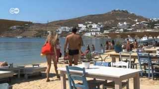 Феномен Миконоса: где в Греции не жалуются на кризис(Уровень безработицы в Греции бьет рекорды. Среди молодежи он достигает 60 процентов. А на одном из греческих..., 2013-10-02T08:56:25.000Z)