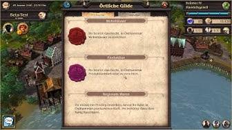 Patrizier Online Gameplay Video (Deutsch/German)