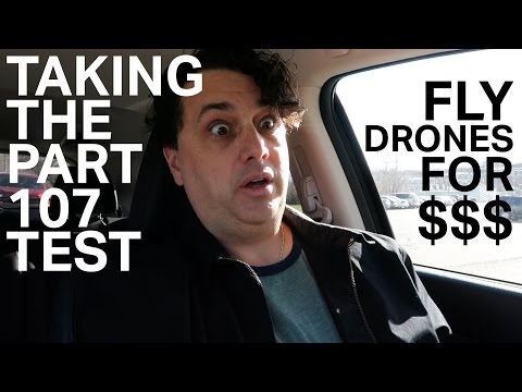 Attempting to Pass FAA Part 107 Test to Fly Drone Commercially