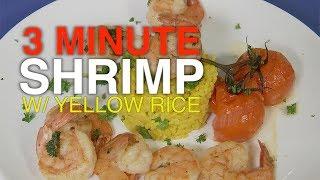 3 Minute Shrimp and Yellow Rice Recipe