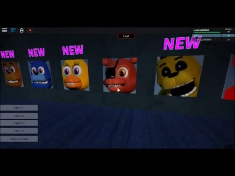 Roblox Five Nights At Freddy S Animatronic World Tryng To Escape