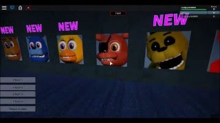 roblox FIVE NIGHTS At FREDDY'S ANIMATRONIC WORLD TRYNG POUR S'ÉCHAPPER