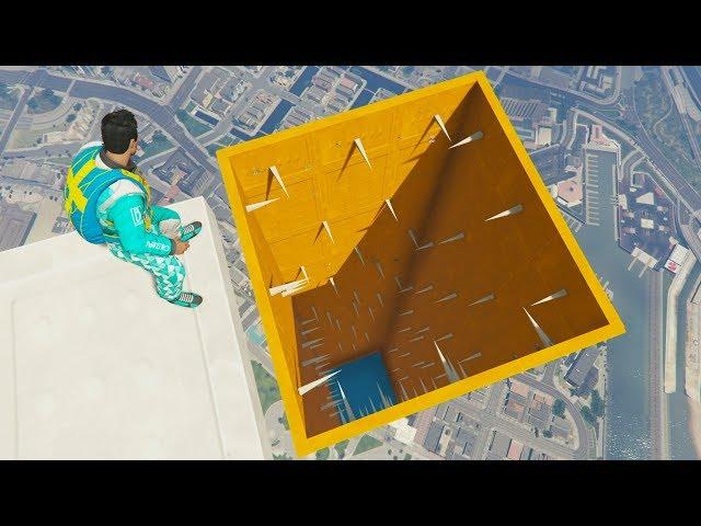 TUNEL DE PINCHOS AFILADOS!! - CARRERA GTA V ONLINE - GTA 5 ONLINE
