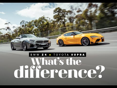 BMW Z4 Vs Toyota Supra: Can You Spot The Difference? | Wheels Australia