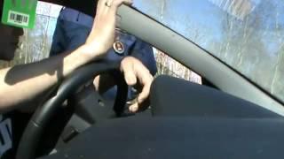 Водитель уверенно разговаривает. Вологодское ГАИ2012..flv