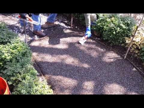 Porous Pave Installation- Aquarius Supply