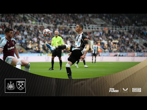 Newcastle United 2 West Ham United 4 |  Highlights of the Premier League