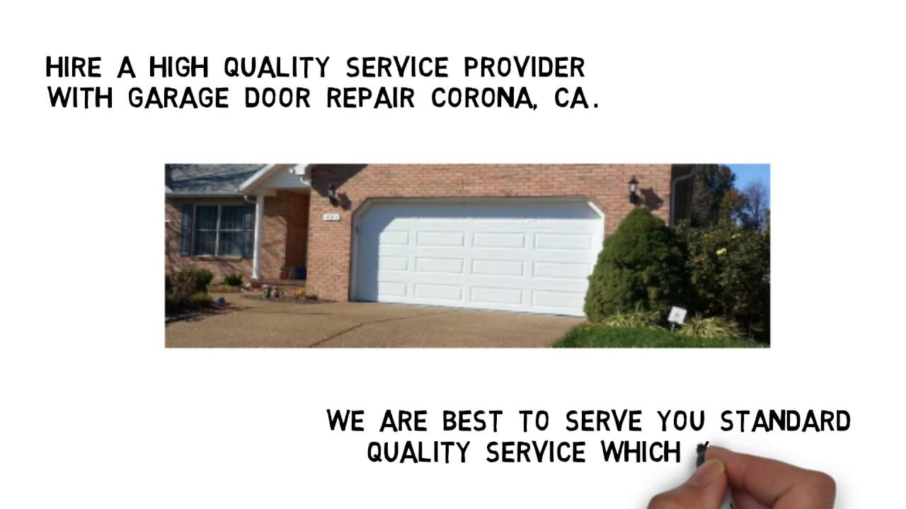 Garage Door Repair Corona Ca Youtube