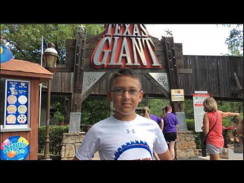 Koaster Kids at Six Flags Over Texas