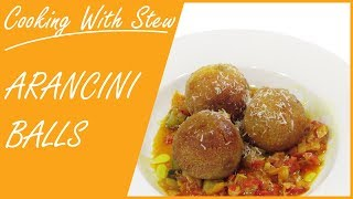 How to Cook Arancini Balls - Cooking with Stew