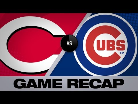 Schwarber's walk-off HR leads Cubs | Reds-Cubs Game Highlights 7/16/19