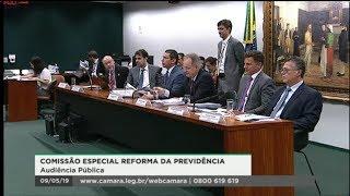 Comissão Especial da Reforma da Previdência - Audiência Pública | 09/05/2019 - 10:03