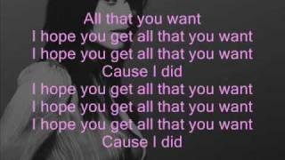 Natalie Imbruglia - Want (+ lyrics)