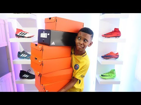 Unboxing 6 Epic Pairs of adidas & Nike Football Boots / Cleats | KAILEM