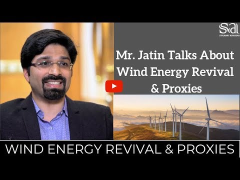 Wind Energy Revival & Proxies