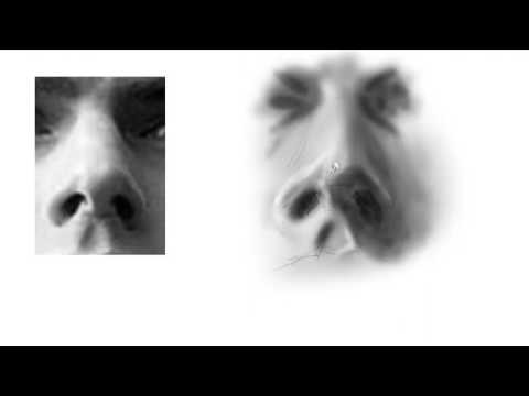 Draw the Nose From Below