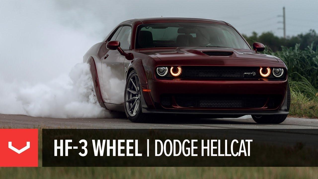 Vossen Hybrid Forged Hf 3 Wheel Dodge Challenger Hellcat Widebody