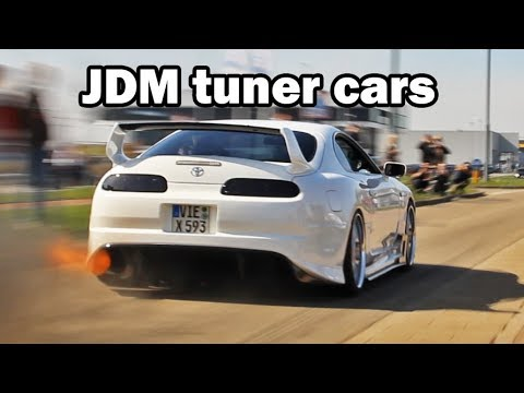 Best of JDM Tuner Cars 2017 compilation !