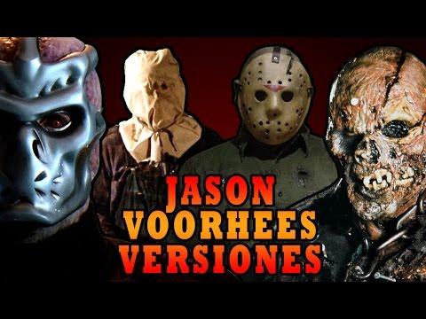 TODAS LAS VERSIONES DE JASON VOORHEES (Friday 13)