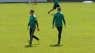 Torwarttraining DFB Manuel Neuer, Marc-André ter Stegen, Kevin Trapp und Bernd Leno