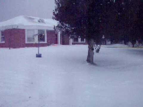 Snowmobiling Mackinac Island School