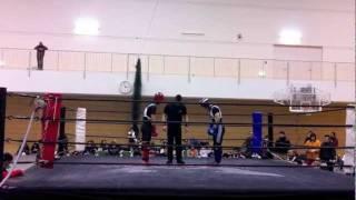 第19回全日本アマチュアシュートボクシング選手権 60kg以下の部 決勝