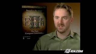 Empire Earth II PC Games Gameplay - Empire Earth II Behind