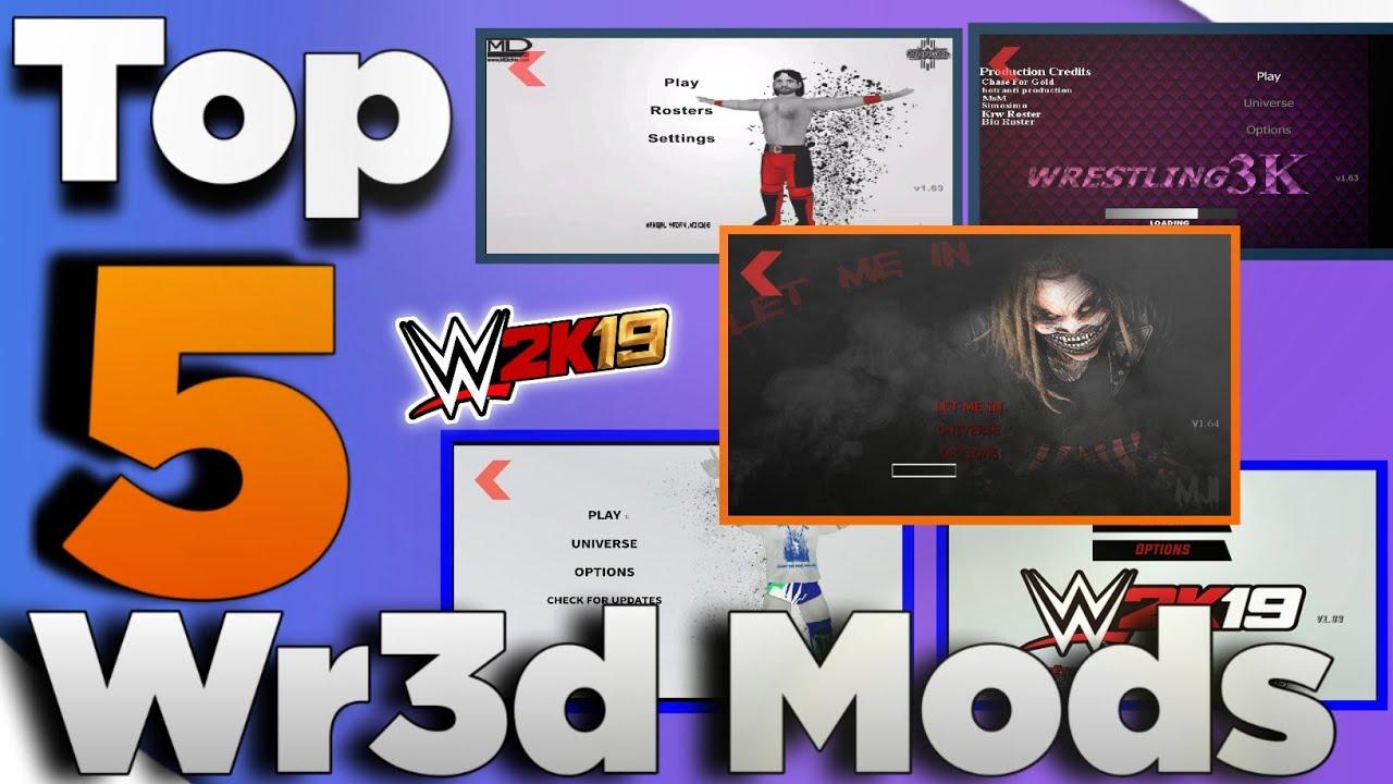 Top 5 Wr3d Mods of 2019|Best mod ever|Link in description 👇👇
