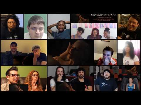 Game of Thrones Season 7 Episode 7 | AEGON Reactions Compilation