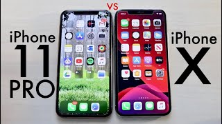 iPhone 11 Pro Vs iPhone X SPEED TEST!