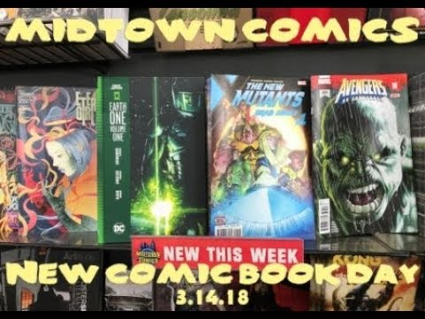 The Hulk returns, Green Lantern Earth One, Detective Comics, & more! Its New Comic Book Day!