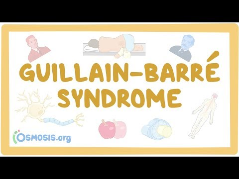 Guillain-Barre Syndrome - causes symptoms diagnosis treatment pathology