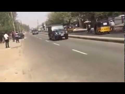 Nigerian President Goodluck Jonathan Kano campaign