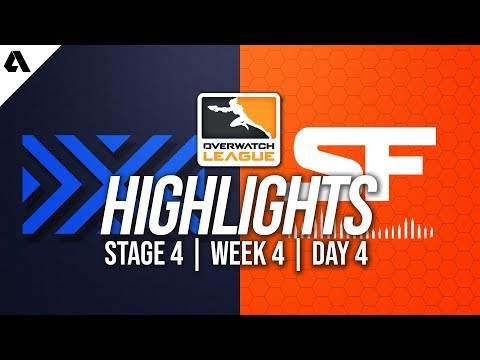 New York Excelsior vs San Francisco Shock | Overwatch League Highlights OWL Stage 4 Week 4 Day 4 thumbnail