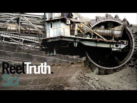 Dirty Great Machines - Bucket Wheel Excavator | Technology Documentary | Reel Truth. Science