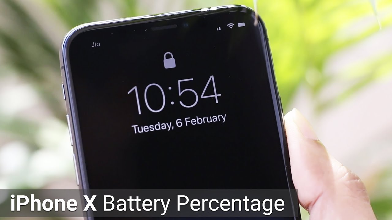 iphone battery percentage 3 ways to view iphone x battery percentage 2101
