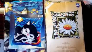 видео Наборы для вышивания подушек