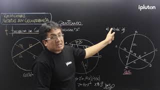 Geometría | Relaciones métricas | Relaciones métricas en el circunferencia - Teorema de cuerdas