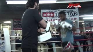 UFC 158 Tristar Media Day Workout Yves Jabouin