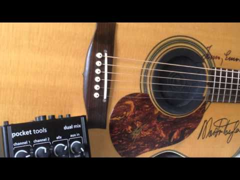 Maton AP5 PRO test with AER pocket tools dual mix(tommy emmanuel halfway home cover)