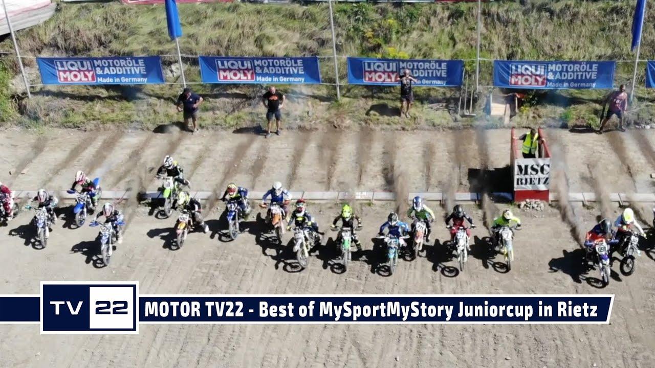 MOTOR TV22: Die Highlights des MySportMyStory Liqui Moly Motocross Junior Cup in Rietz 2020