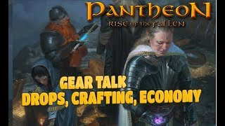 PANTHEON Gear Any Level, NOT Soulbound
