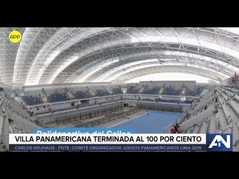 Infraestructura para los Juegos Panamericanos y Paraparamericanos Lima 2019