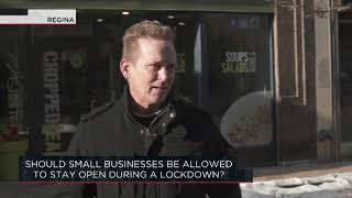 Should small businesses be allowed to stay open during a lockdown? | Outburst